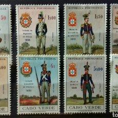 Sellos: SELLOS DE CABO VERDE, SOLDADOS 1965 EN NUEVO. Lote 143110266