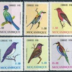 Sellos: MOZAMBIQUE 1978 IVERT 644/9 *** FAUNA - PAJAROS DE MOZAMBIQUE - AVES. Lote 143618158