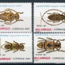 Sellos: MOZAMBIQUE 1997 IVERT 1336/39 *** FAUNA - INSECTOS COLEOPTEROS. Lote 146560434