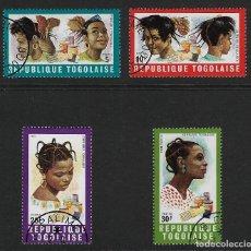 Stamps - TOGO. Yvert nsº 654/57 usados y 2 sellos defectuosos - 146793714