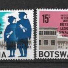 Stamps - BOTSWANA 1967 SC # 33 - 36 mh - 10/16 - 147092118