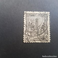Sellos: TÚNEZ,TUNISIE,COLONIA FRANCESA,1926-1946,MEZQUITA DE TÚNEZ,SCOTT 87,USADO,(LOTE AG). Lote 151610866