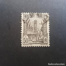 Sellos: TÚNEZ,TUNISIE,COLONIA FRANCESA,1926-1946,MEZQUITA DE TÚNEZ,SCOTT 87,USADO,(LOTE AG). Lote 151612026