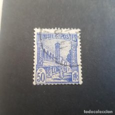 Sellos: TÚNEZ,TUNISIE,COLONIA FRANCESA,1926-1946,MEZQUITA DE TÚNEZ,SCOTT 88C,USADO,(LOTE AG). Lote 151613750