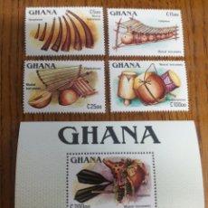 Sellos: GHANA: SG. 1217/20,MS.1221MNH,AÑO 1987.. Lote 153841114
