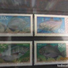 Sellos: NAMIBIA , 1994 , 4 VALORES PECES , NUEVO. Lote 154240142