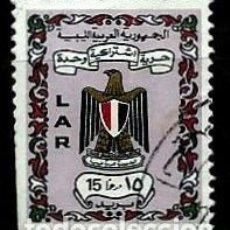 Sellos: LIBIA SCOTT: 443-(1972) (ESCUDO DE ARMAS) USADO. Lote 155858050
