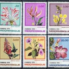 Sellos: MOZAMBIQUE 1978 IVERT 651/6 *** FLORES DE MOZAMBIQUE - FLORA. Lote 158228354