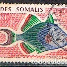 Stamps - SOMALIA (COLONIA FRANCESA) IVERT Nº 295, PEZ, USADO - 158429446
