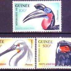 Sellos: GUINEA A26/8 AVES. Lote 159880886