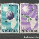 Sellos: NIGERIA AÑO INTERNACIONAL DEL SOL YVERT NUM. 169/170 ** SERIE COMPLETA SIN FIJASELLOS. Lote 160481306