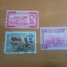 Sellos: 3 SELLOS ETHIOPIA. Lote 119990146