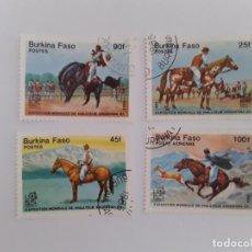 Stamps - BURKINA FASO Sello usado - 161257966