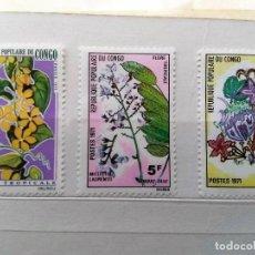 Stamps - REPÚBLICA DE CONGO, 3 SELLOS USADOS - 161617094