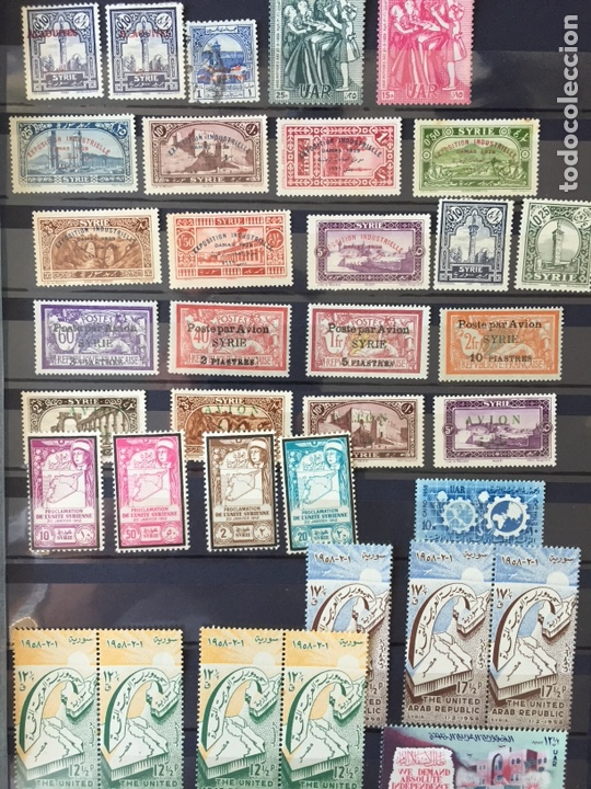 Sellos: Sellos Siria 1920 a 1950 nuevo muy escaso - Foto 2 - 161676869