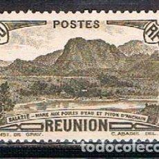 Stamps - Islas Reunión (Colonia francesa) Ivert nº 164, Pico de Achain, nuevo sin goma - 164578110