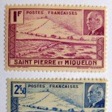 Sellos: SELLOS DE SAINT PIERRE ET MIQUELON RF. Lote 164964482