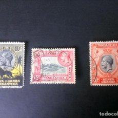 Sellos: KENYA, UGANDA Y TANGANIKA, 1935, JORGE V . Lote 167162380