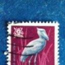 Sellos: UGANDA 1965. AVES. PICOZAPATO. USADO.. Lote 168519380