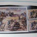 Sellos: HOJA BLOQUE Y SELLOS LIBIA. Lote 169019176