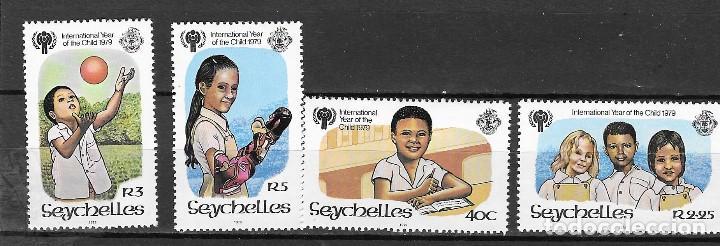 SEYCHELLS Nº 421 AL 424 (**) (Sellos - Extranjero - África - Otros paises)