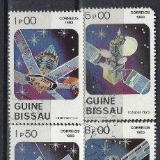 Sellos: GUINEA-BISSAU 1983 - DÍA DE LA COSMONÁUTICA, S. INCOMPLETA - SELLOS USADOS. Lote 172197318