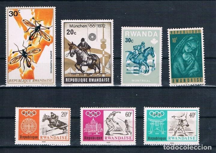SELLOS DE RUANDA (Sellos - Extranjero - África - Otros paises)