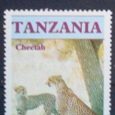Selos: TANZANIA GUEPARDOS SELLO NUEVO. Lote 176588205