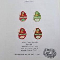 Sellos: 1967-1969 SIERRA LEONE FOLIO SET DE SELLOS. Lote 177747312