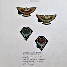 Sellos: 1967-1969 SIERRA LEONE FOLIO SET DE SELLOS GOLD FOIL SELLOS AGUILAS DE ORO. Lote 177747394
