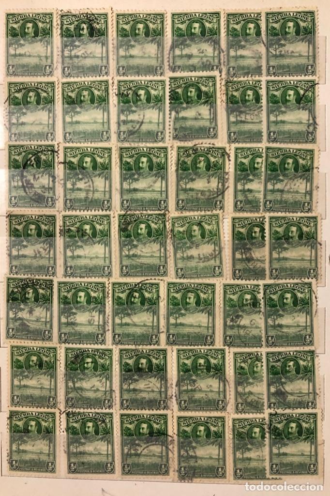 Sellos: ALBUM CON 200 SELLOS DE SIERRA LEONA Y NIGERIA. VER FOTOS - Foto 5 - 178092878