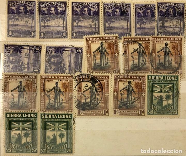 Sellos: ALBUM CON 200 SELLOS DE SIERRA LEONA Y NIGERIA. VER FOTOS - Foto 7 - 178092878
