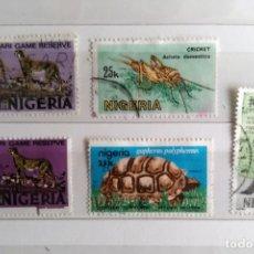 Sellos: NIGERIA, 5 SELLOS USADOS. Lote 178171587