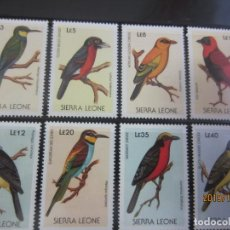 Sellos: SIERRA LEONA - 8 V. NUEVO. Lote 178262705