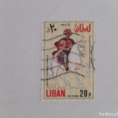 Sellos: LIBANO SELLO USADO. Lote 178759795