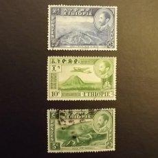 Sellos: 3 SELLOS DE ETIOPÍA. Lote 179345161