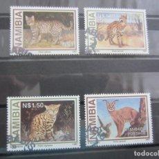 Sellos: NAMIBIA 1997 - 4 V. USADO. Lote 180222823