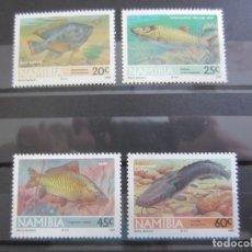 Sellos: NAMIBIA 1992 - 4 V. NUEVO. Lote 180223010