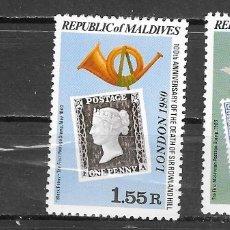 Sellos: MALDIVES Nº 808 AL 809 (**). Lote 180234895