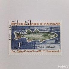 Sellos: MAURITANIA SELLO USADO FAUNA. Lote 181480937