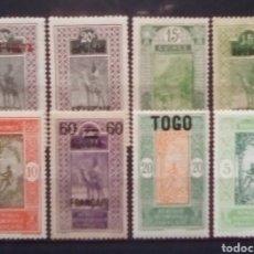 Sellos: ÀFRICA ECUATIRIAL FRANCESA LOTE DE SELLOS NUEVOS. Lote 182486103