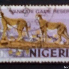 Sellos: NIGERIA FAUNA SELLO USADO. Lote 182588810