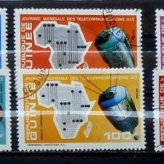 Sellos: GUINEE - FOTO 936- Nº 457 IVERT , COMPLETA, USADO. Lote 182611380