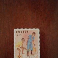 Sellos: SELLO RWANDA 1982. Lote 182770600