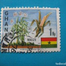 Sellos: GHANA 1967, YVERT 278. Lote 182829673