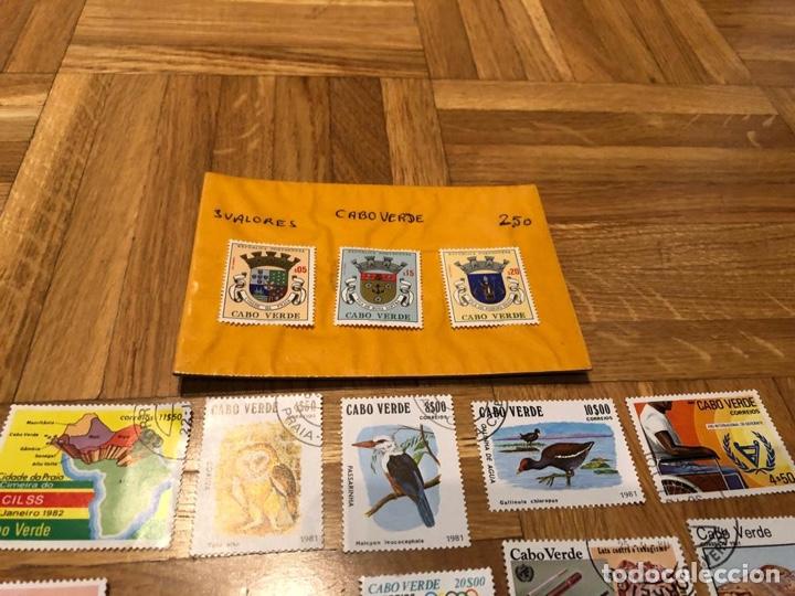 Sellos: 17 sellos Cabo Verde - Foto 2 - 182915888