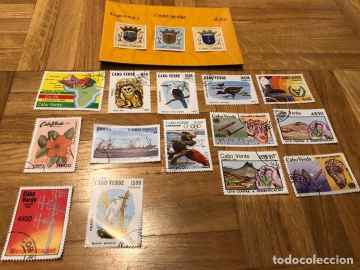 Sellos: 17 sellos Cabo Verde - Foto 3 - 182915888