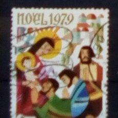 Sellos: TOGO NAVIDAD SELLO USADO. Lote 184100717