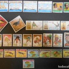 Sellos: REPÚBLICA DE GUINEA-ANTIGUA GUINEA FRANCESA-100 SELLOS DIFERENTES-LOTE 2. Lote 184393811