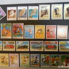 Sellos: REPÚBLICA DE GUINEA-ANTIGUA GUINEA FRANCESA-100 SELLOS DIFERENTES-LOTE 3. Lote 184393871